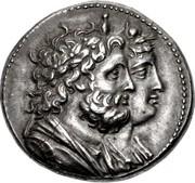 Tetradrachm - Ptolemy IV Philopator (Battle of Raphia) – obverse