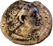 Tetradrachm - Ptolemy V Epiphanes – obverse