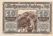 10 Heller (Puchberg am Schneeberg) – obverse