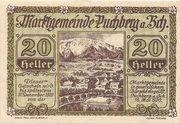 20 Heller (Puchberg am Schneeberg) -  obverse