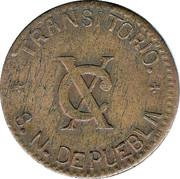 10 Centavos (Chiconcuautla) – reverse