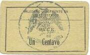 1 Centavo (Distrito De Matamoros) – reverse