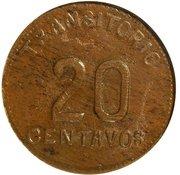 20 Centavos (Chiconcuatla) – reverse