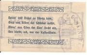 50 Heller (Pürbach) – reverse