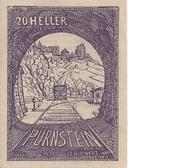 20 Heller (Pürnstein) – obverse