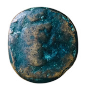 AE22 - Malaca – obverse