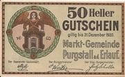 50 Heller (Purgstall) -  obverse