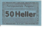 50 Heller (Purgstall) – obverse
