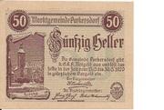 50 Heller (Purkersdorf) – obverse