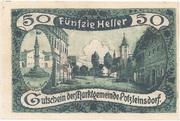 50 Heller (Putzleinsdorf) -  obverse