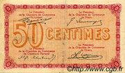 50 centimes - Chambre de commerce du Puy de Dôme [63] – reverse