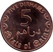 5 Dirhams - Tamim – reverse