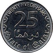 25 Dirhams - Tamim -  reverse