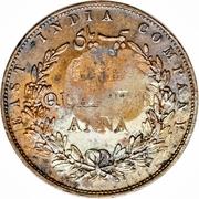 ¼ Anna - Munassar (10mm CM on KM#446.2) – reverse