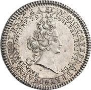 ⅛ Thaler - Anna Dorothea (Death) – obverse