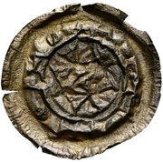 1 Brakteat - Heinrich X. – reverse