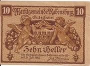 10 Heller (Rabensburg) – obverse