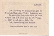 50 Heller (Rabenstein) -  reverse