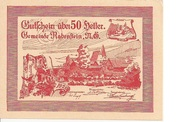 50 Heller (Rabenstein) -  obverse