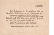20 Heller (Rabenstein) – reverse