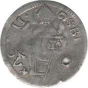 1 Grosso (Ω sign) – obverse