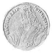 ½ Tallero (Poluvižlin) – obverse
