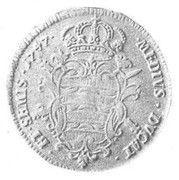 ½ Tallero (Poluvižlin) – reverse