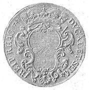 1 Tallero (Maria Theresia) – reverse