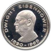 10 Riyals - Saqr (Dwight Eisenhower) – reverse
