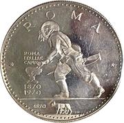 Medal - Centennial of Rome (silver) – reverse