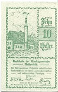 10 Heller (Rastenfeld) – obverse