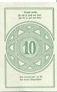 10 Heller (Rastenfeld) – reverse