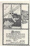 20 Heller (Rastenfeld) – obverse