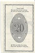 20 Heller (Rastenfeld) – reverse