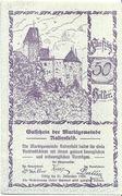 50 Heller (Rastenfeld) – obverse