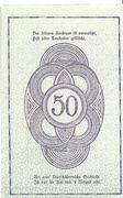 50 Heller (Rastenfeld) – reverse