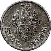 5 Pfennig - Ratibor – obverse