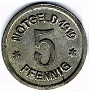 5 Pfennig - Ratibor – reverse