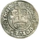 1 Groschen - Wilhelm V. von Jülich-Kleve-Berg – reverse