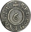 1 Körtling - Friedrich Wilhelm – reverse