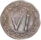 6 Pfennig - Georg Wilhelm – reverse