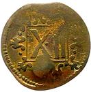 12 Pfennig - Friedrich Wilhelm von Brandenburg – reverse