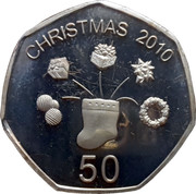 50 Cents (Christmas) – reverse