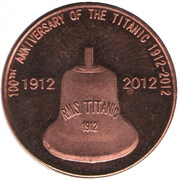 10 Cents (100th Anniversary of the Titanic) – reverse