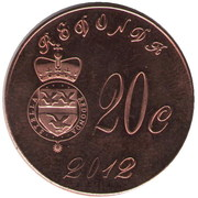 20 Cents (100th Anniversary of the Titanic) – obverse