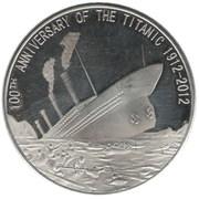 25 Dollars (100th Anniversary of the Titanic) – reverse