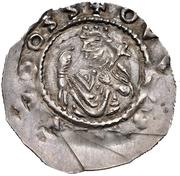 1 Dünnpfennig -  Heinrich X. der Stolze (Regensburg) – obverse