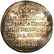 Medal - Imperial Coronation of Ferdinand IV in Regensburg – reverse
