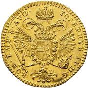 ½ Ducat - Joseph II. – obverse