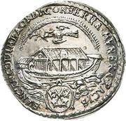 1 Ducat (Silver pattern strike; Peace of Westphalia) – obverse